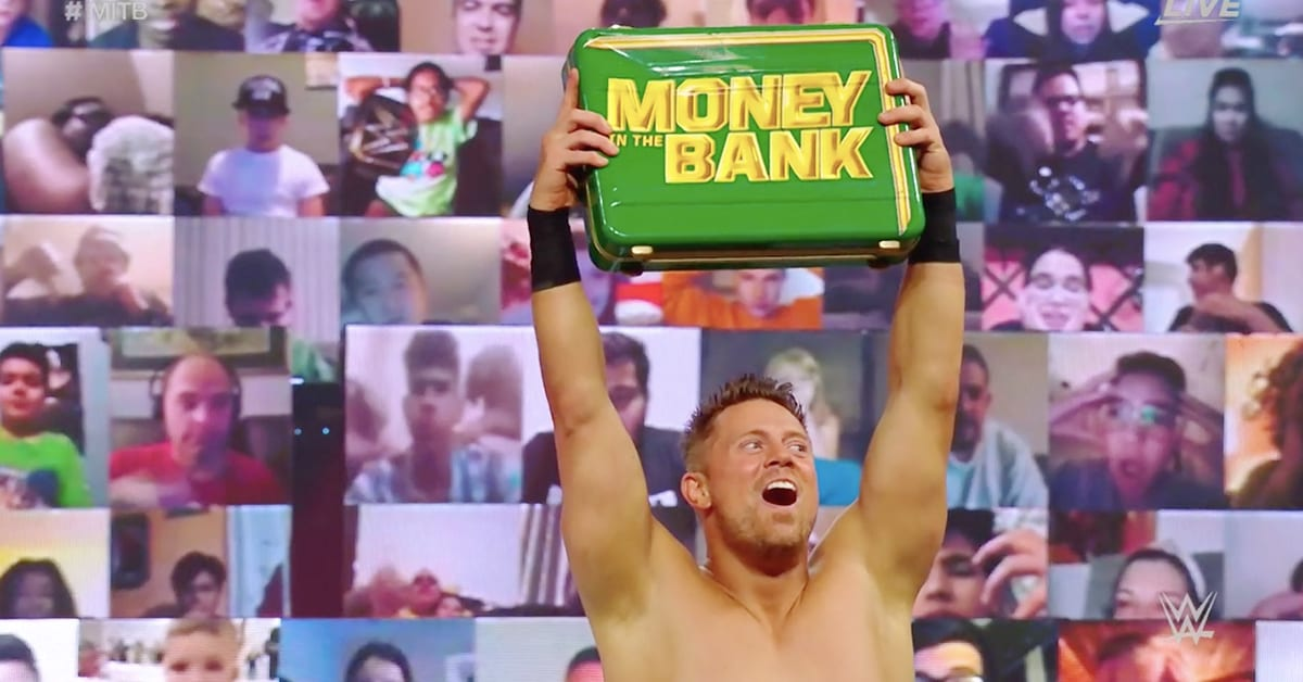 The Miz Wins Money In The Bank 2020 Contract Hell In A Cell 2020