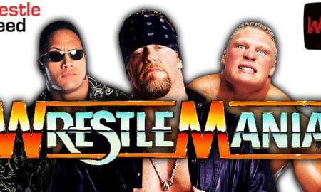WrestleMania 37 Matches The Rock The Undertaker Brock Lesnar WrestleFeed App