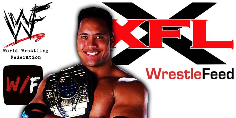 The Rock XFL Owner Article Pic 4 WrestleFeed App