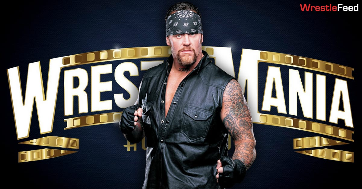 The Undertaker American Badass Big Evil WrestleMania 37 Graphic WrestleFeed App