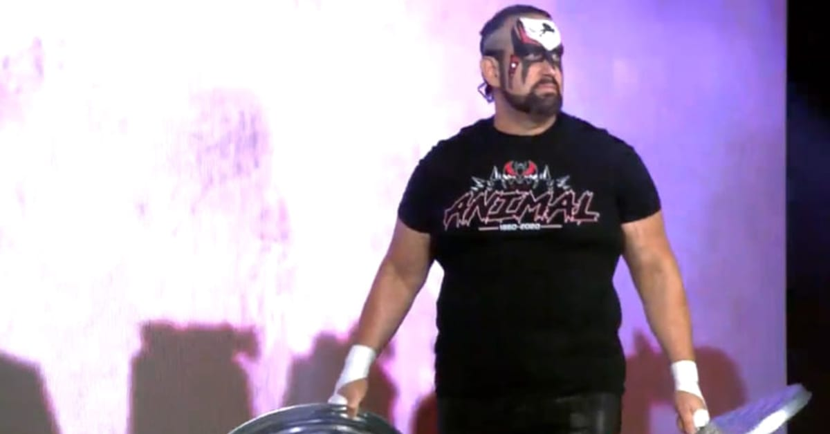 Tommy Dreamer Pays Tribute To Road Warrior Animal With Face Paint At Impact Wrestling Bound For Glory 2020