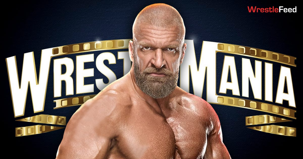 Triple H WrestleMania 37 Graphic WrestleFeed App