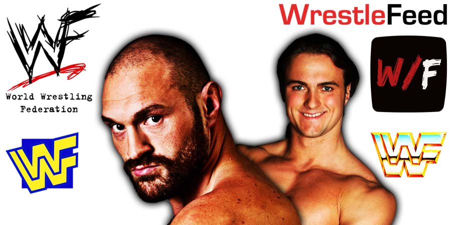 Tyson Fury vs Drew McIntyre WWE UK PPV WrestleFeed App