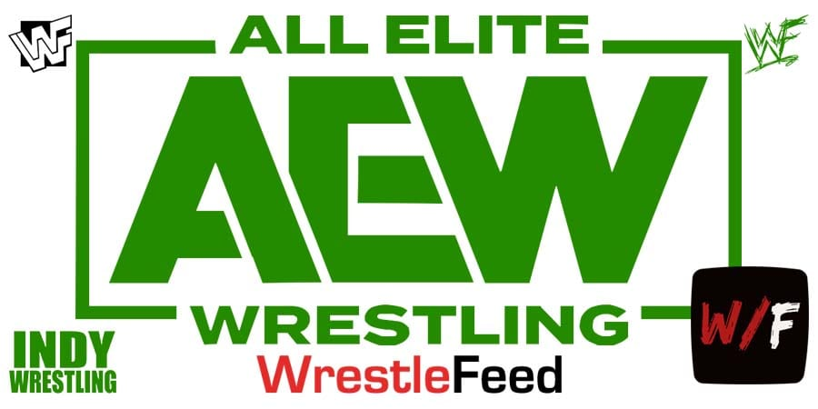 AEW Green Logo Article Pic WrestleFeed App