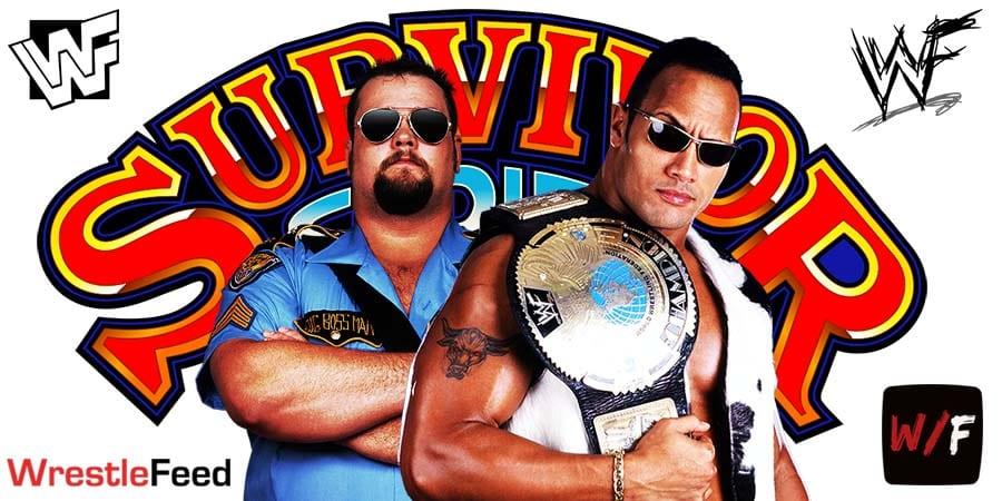 Big Boss Man vs The Rock Shortest WWE WWF Match Ever Survivor Series 1998 WrestleFeed App