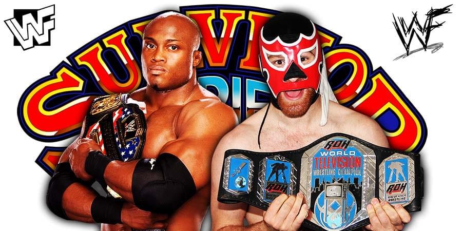 Bobby Lashley Defeats Sami Zayn At Survivor Series 2020