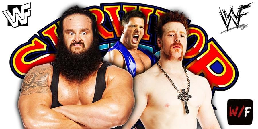 Braun Strowman AJ Styles Sheamus Survivor Series 2020 WrestleFeed App
