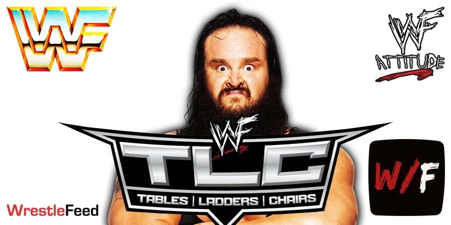 Braun Strowman TLC 2020 WrestleFeed App