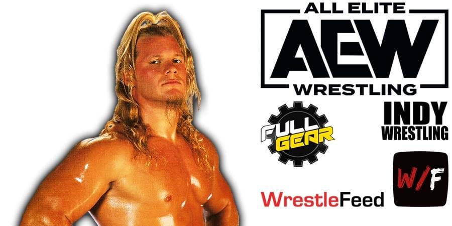 Chris Jericho AEW Full Gear 2020 WrestleFeed App