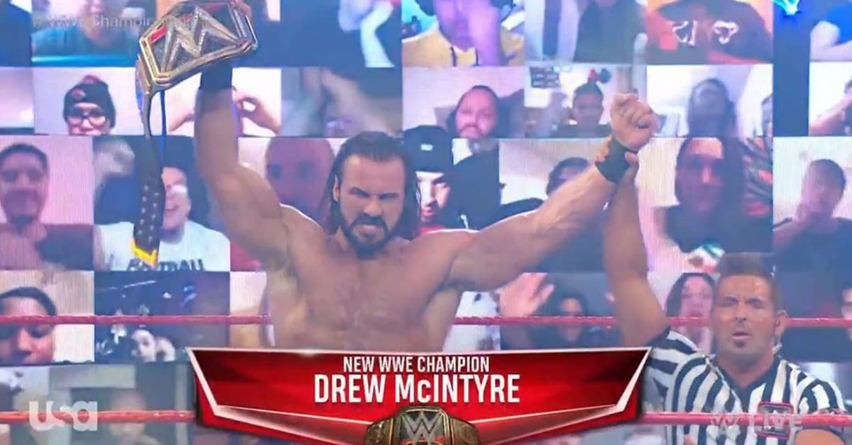 Drew McIntyre Defeats Randy Orton To Become 2 Time WWE Champion On RAW Before Survivor Series 2020
