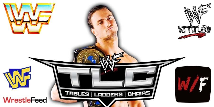 Drew McIntyre WWE Champion TLC 2020 WrestleFeed App