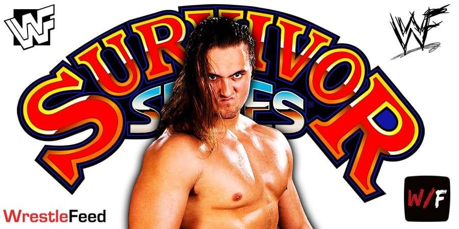 Drew McIntyre WWE Survivor Series 2020 WrestleFeed App