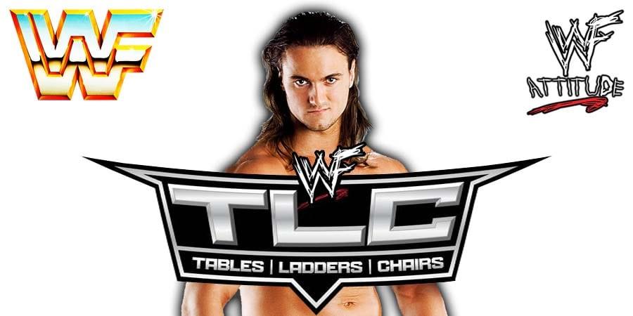 Drew McIntyre WWE TLC 2020