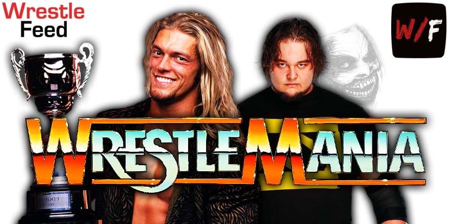 Edge vs The Fiend Bray Wyatt WrestleMania 37 WrestleFeed App