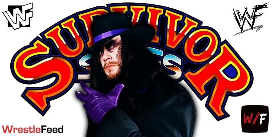 Final Farewell The Undertaker WWE Survivor Series 2020 WrestleFeed App