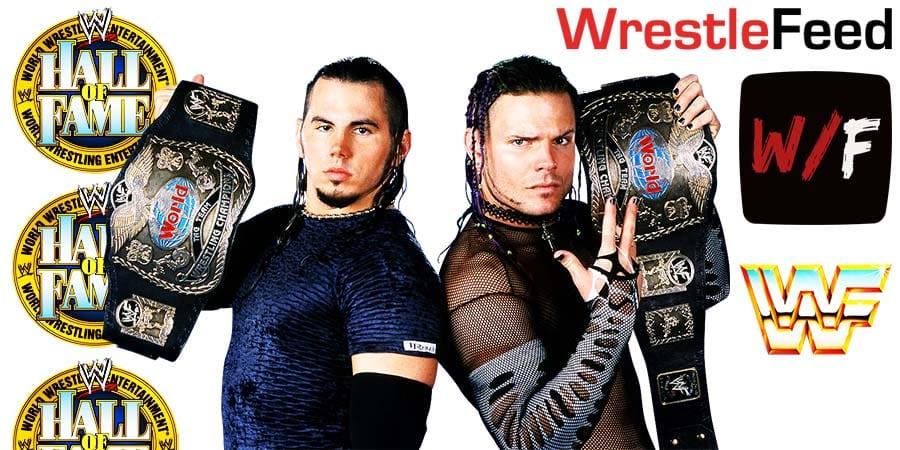 Hardy Boyz WWE Hall Of Fame WrestleFeed App