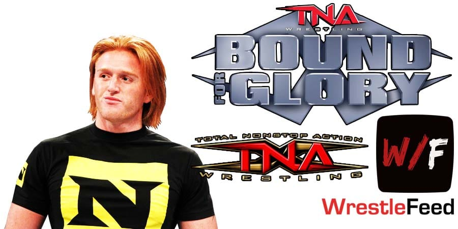 Heath Slater Injured At Impact Wrestling Bound For Glory 2020