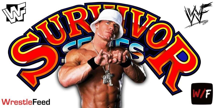 John Cena Survivor Series 2020 WrestleFeed App
