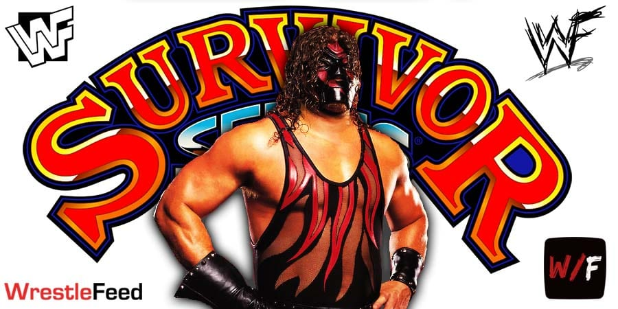 Kane WWE Survivor Series 2020