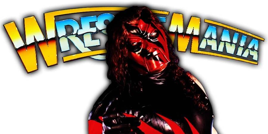 Kane WrestleMania