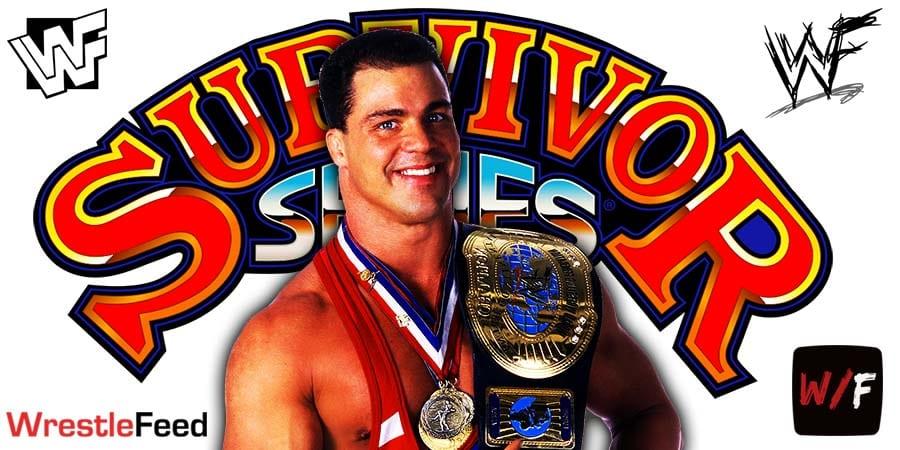 Kurt Angle Survivor Series 2020 WrestleFeed App