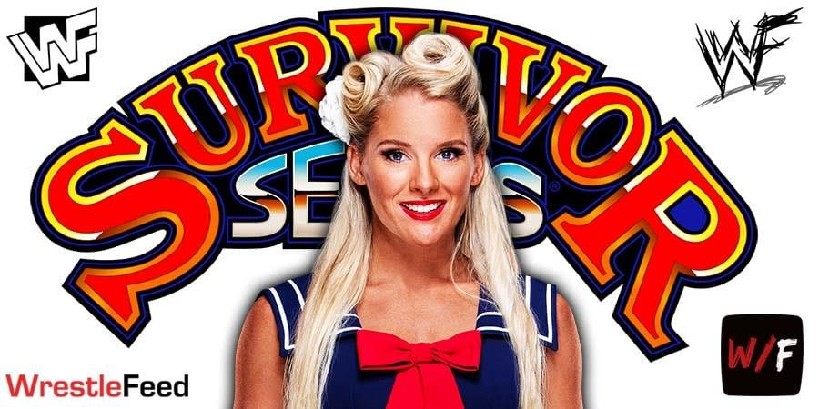 Lacey Evans WWE Survivor Series 2020 WrestleFeed App