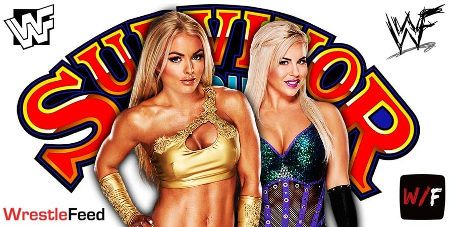 Mandy Rose Dana Brooke Pulled From WWE Survivor Series 2020 WrestleFeed App