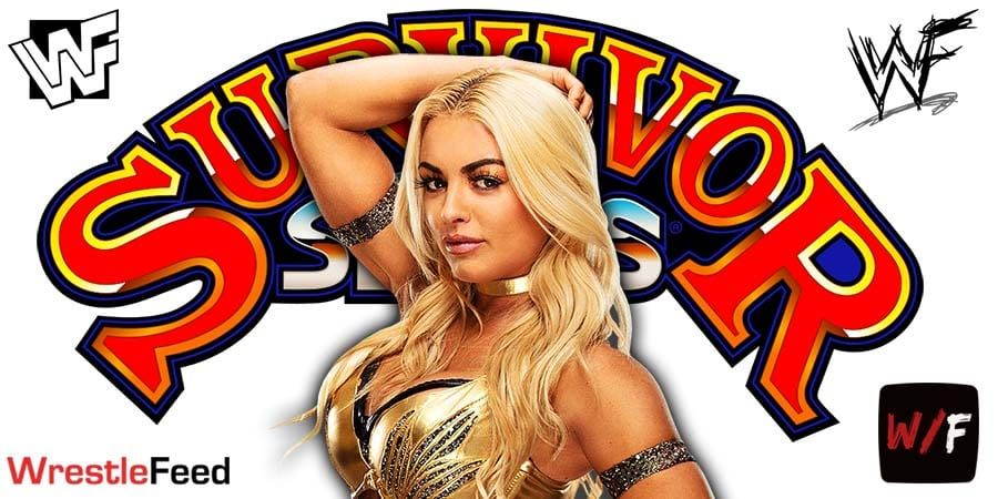 Mandy Rose Pulled From WWE Survivor Series 2020