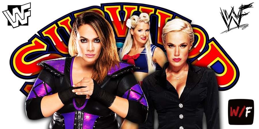 Nia Jax Lacey Evans Lana Survivor Series 2020 WrestleFeed App