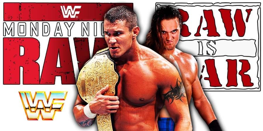Randy Orton Drew McIntyre WWE Championship Match RAW