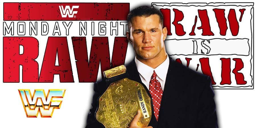Randy Orton World Champion RAW Article Pic