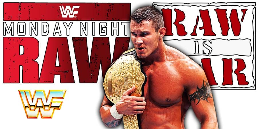 Randy Orton World Heavyweight Champion RAW Article Pic