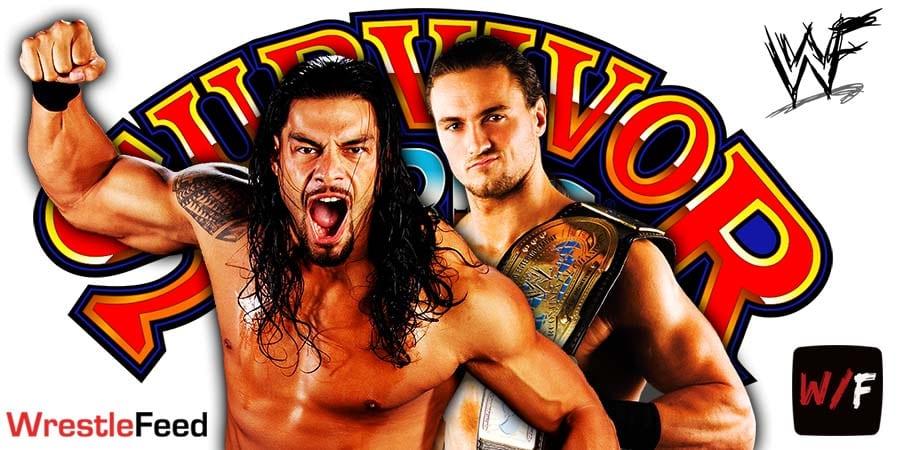 Roman Reigns Defeats Drew McIntyre At Survivor Series 2020