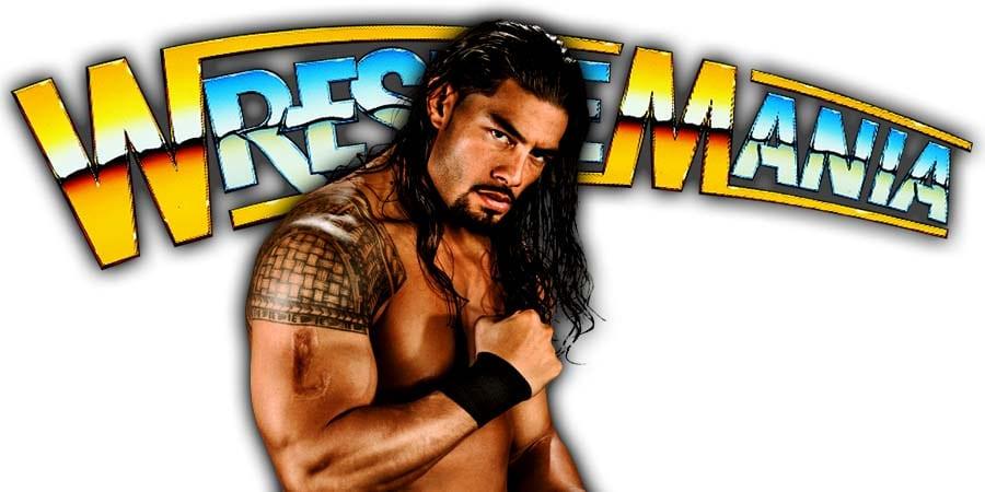 Roman Reigns WrestleMania 37