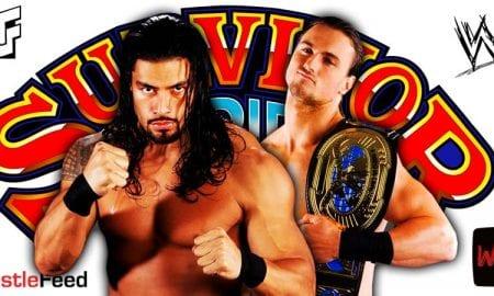 Roman Reigns vs Drew McIntyre WWE Survivor Series 2020 WrestleFeed App