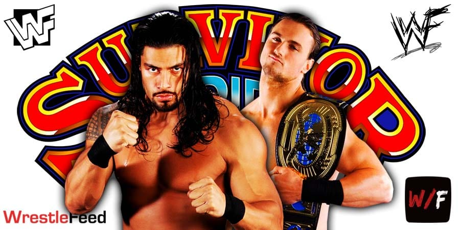 Roman Reigns vs Drew McIntyre WWE Survivor Series 2020 WrestleFeed App