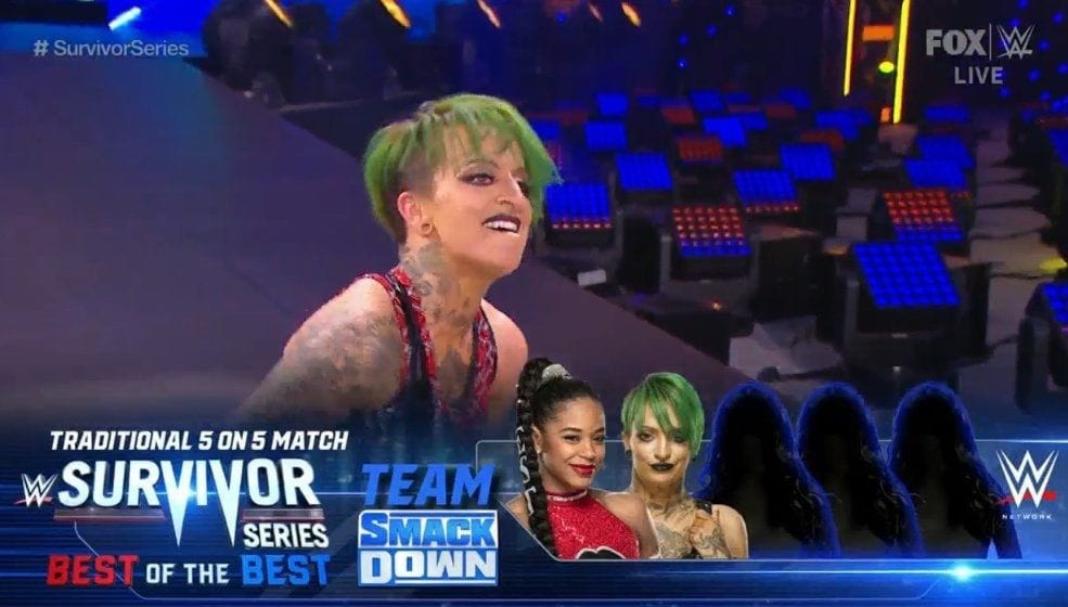 Ruby Riott Cuts Her Hair WWE SmackDown November 2020