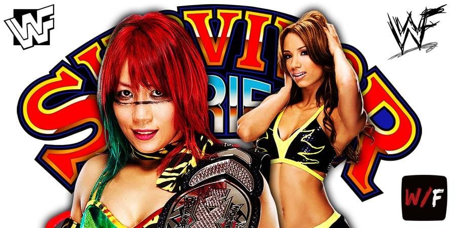 Sasha Banks Defeats Asuka At Survivor Series 2020 WrestleFeed App