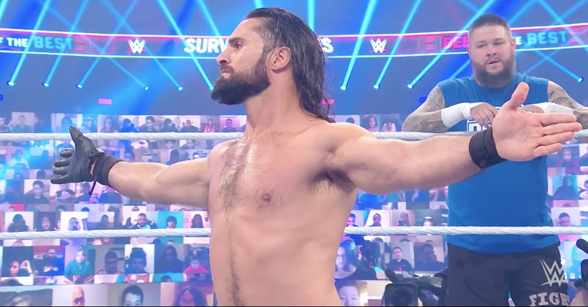 Seth Rollins Sacrifices Himself At WWE Survivor Series 2020