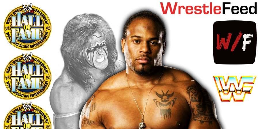 Shad Gaspard WWE Hall Of Fame Warrior Award WrestleFeed App