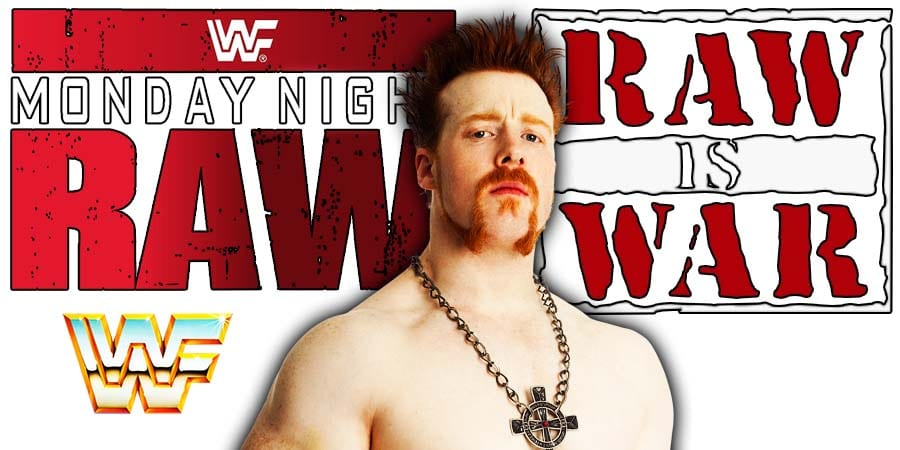 Sheamus RAW Article Pic