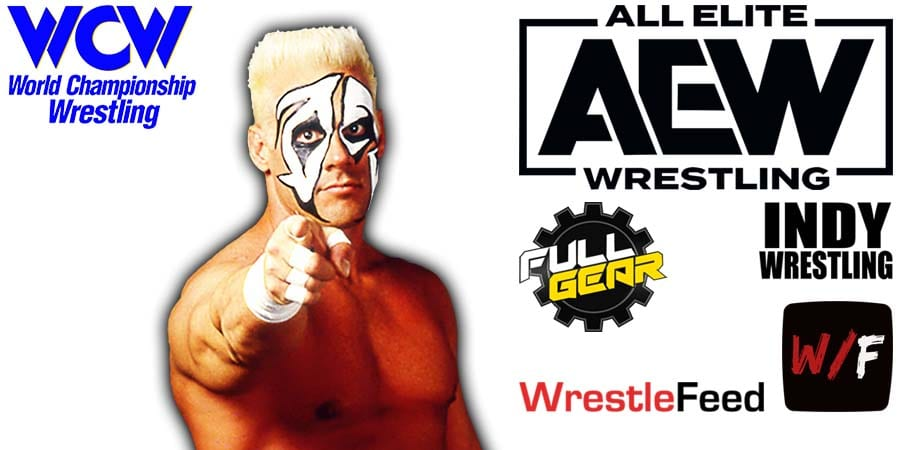 Sting AEW Full Gear 2020 Article Pic 1 WrestleFeed App
