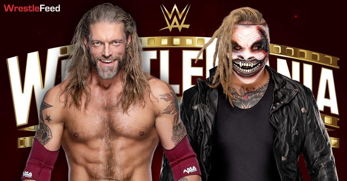 The Fiend Bray Wyatt vs Edge WWE WrestleMania 37 Graphic WrestleFeed App