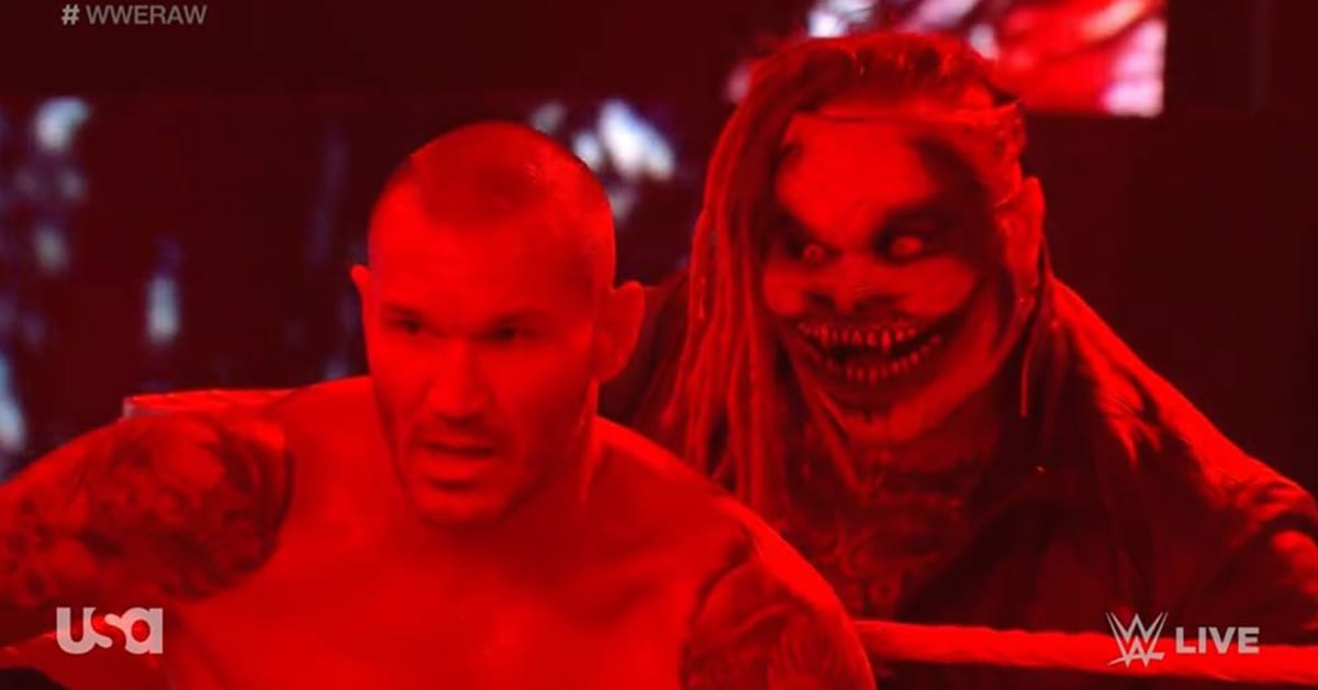 The Fiend Scary Behind Randy Orton WWE RAW After Survivor Series 2020