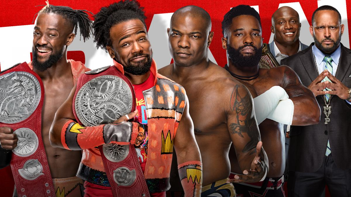 The New Day vs The Hurt Business WWE RAW November 2020