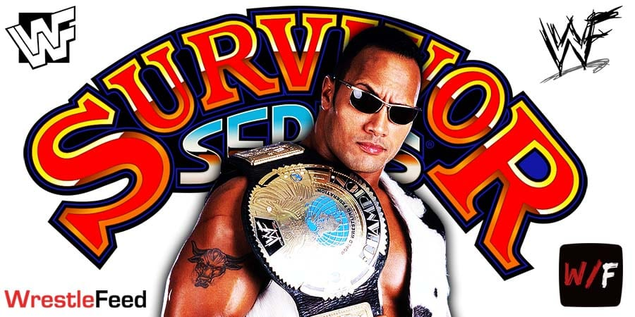 The Rock WWF Champion Survivor Series WrestleFeed App