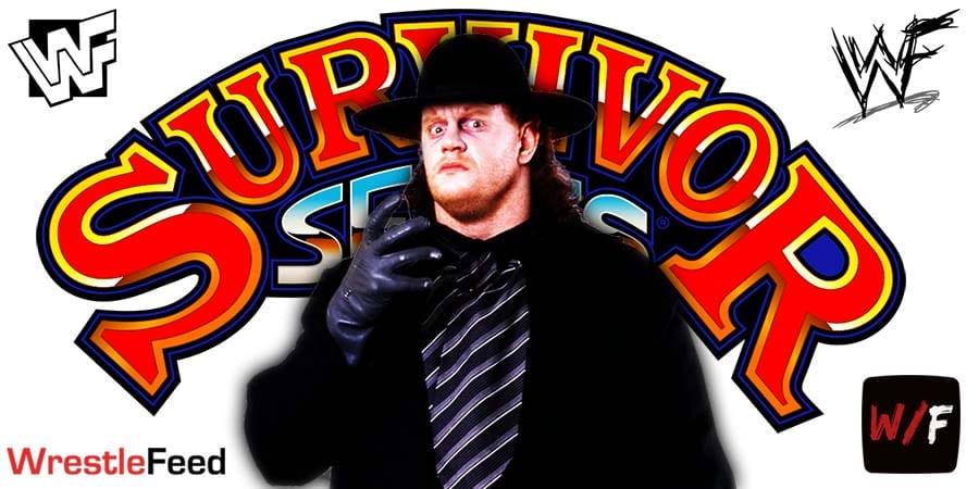 The Undertaker Final Farewell Survivor Series 2020 WWE WrestleFeed App
