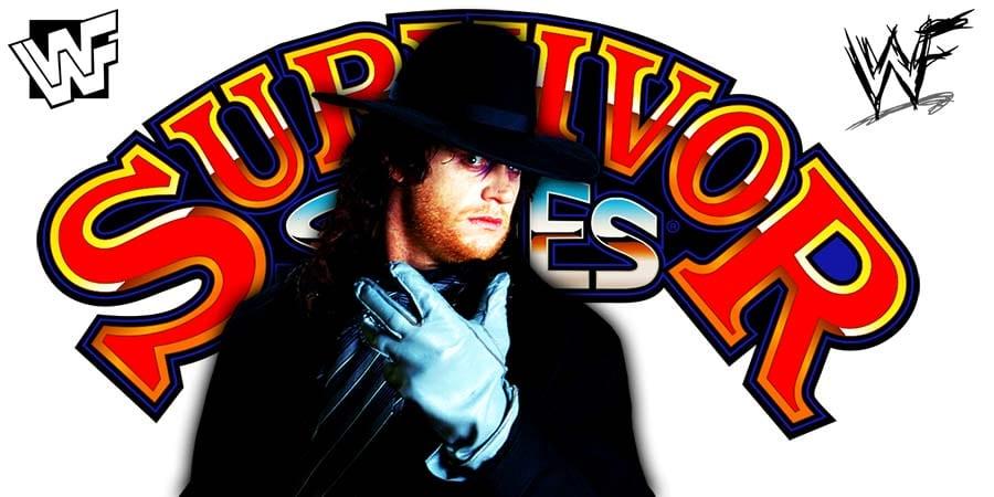 The Undertaker Getting Final Farewell At WWE Survivor Series 2020 WrestleFeed App