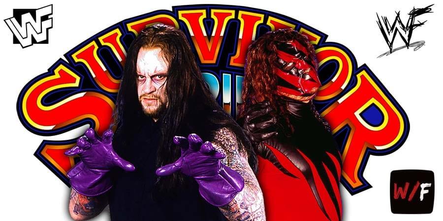 The Undertaker Kane Brothers Of Destruction WWE Survivor Series 2020 WrestleFeed App