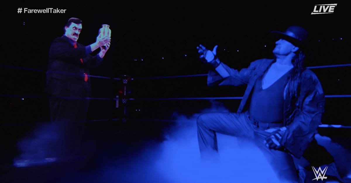 The Undertaker Pays Tribute To Paul Bearer At WWE Survivor Series 2020 Final Farewell
